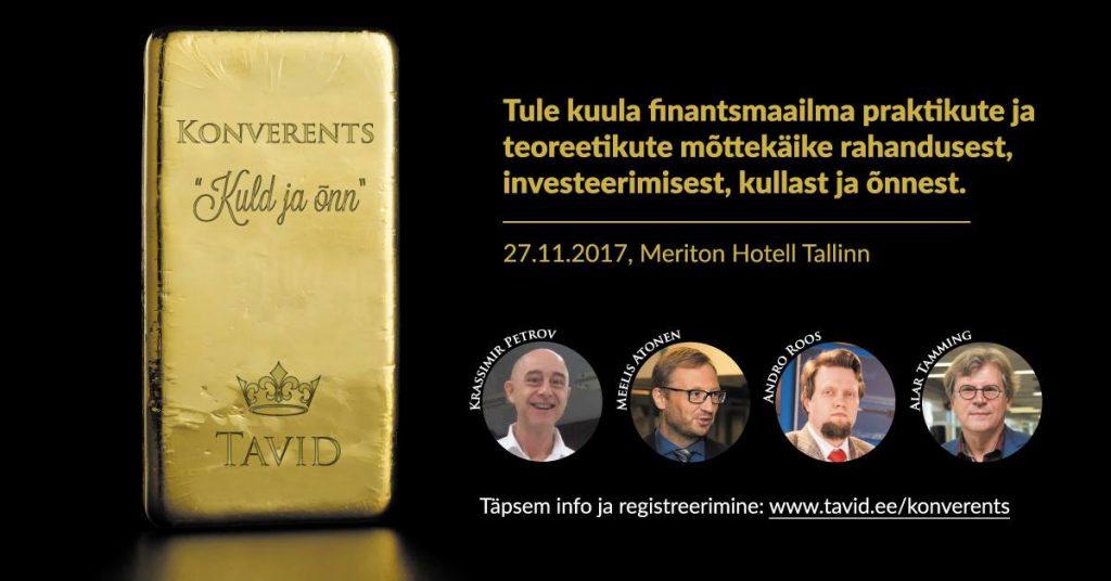 """Konverents """"Kuld ja õnn"""""""
