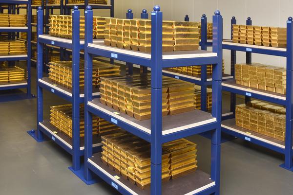 Kuld Hollandi keskpanga hoidlas